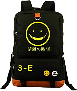 YOYOSHome Anime Assassination Classroom Cosplay Bookbag College Laptop Bag Backpack School Bag