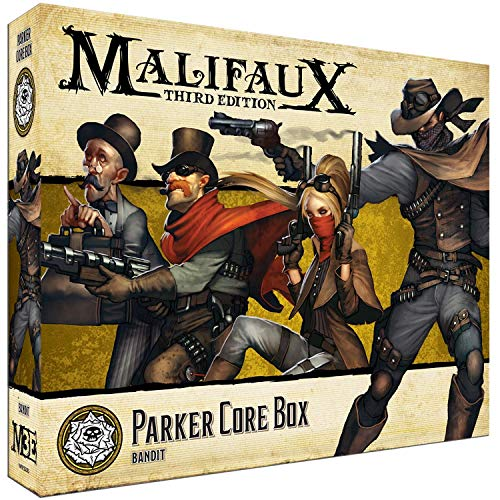 Malifaux Third Edition Outcasts Parker Core Box