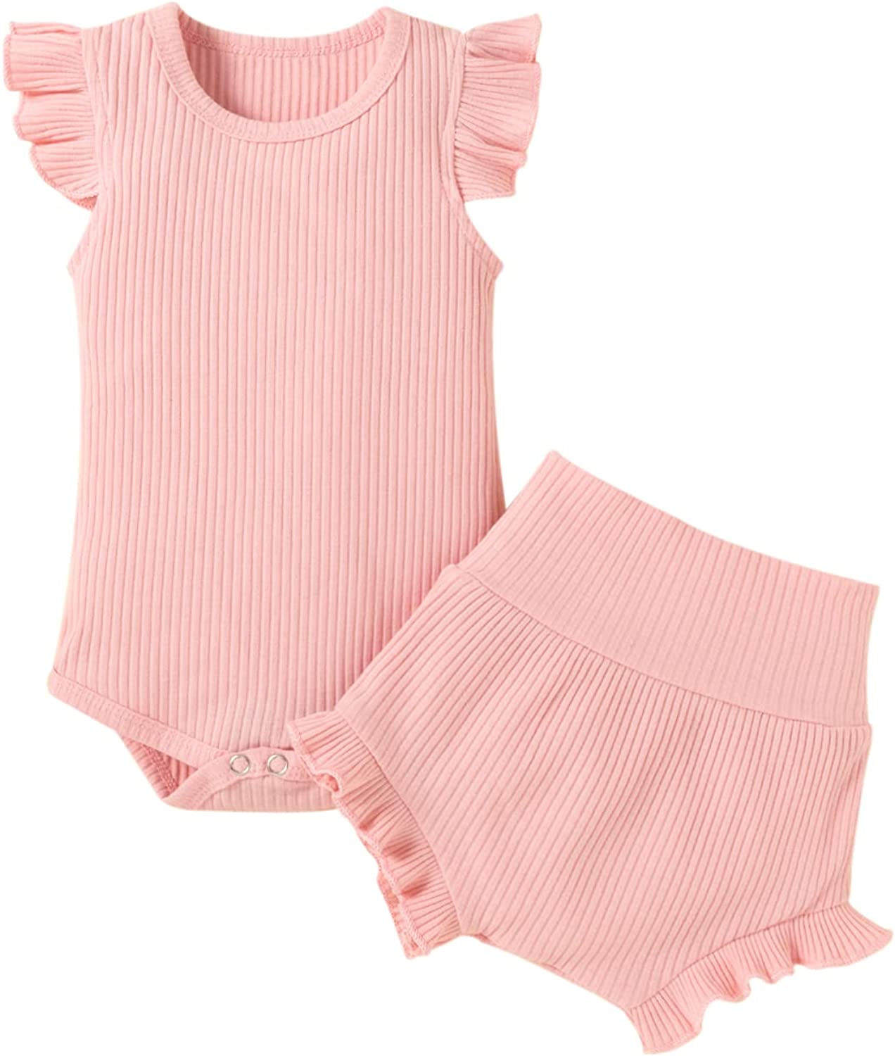 Infant Baby Girl Clothes Newborn Outfits Sets Toddler Ruf Summer Large special price !! Max 75% OFF