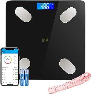 Bilancia Impedenziometrica LIFE-LXC Bilancia Pesa Persona Digitale Massa Grassa Bluetooth Misura Precisa di Peso, Massa Ma...