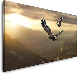 WTD Mantiburi Impression sur toile panoramique avec ch/âssis Motif panoramique 100 x 40 cm