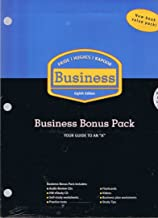 Pride / Hughes / Kapoor, Business 8th Edition: Business Bonus Pack Your Guide to an