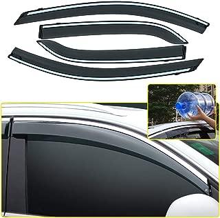 4 Piezas Para Ford Ecosport viento desviadores conjunto