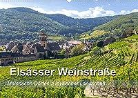 Elsaesser Weinstrasse, malerische Doerfer in idyllischer Landschaft (Wandkalender 2022 DIN A2 quer): Zauberhafte Orte an der Weinstrasse im Elsass von Nord nach Sued (Monatskalender, 14 Seiten )