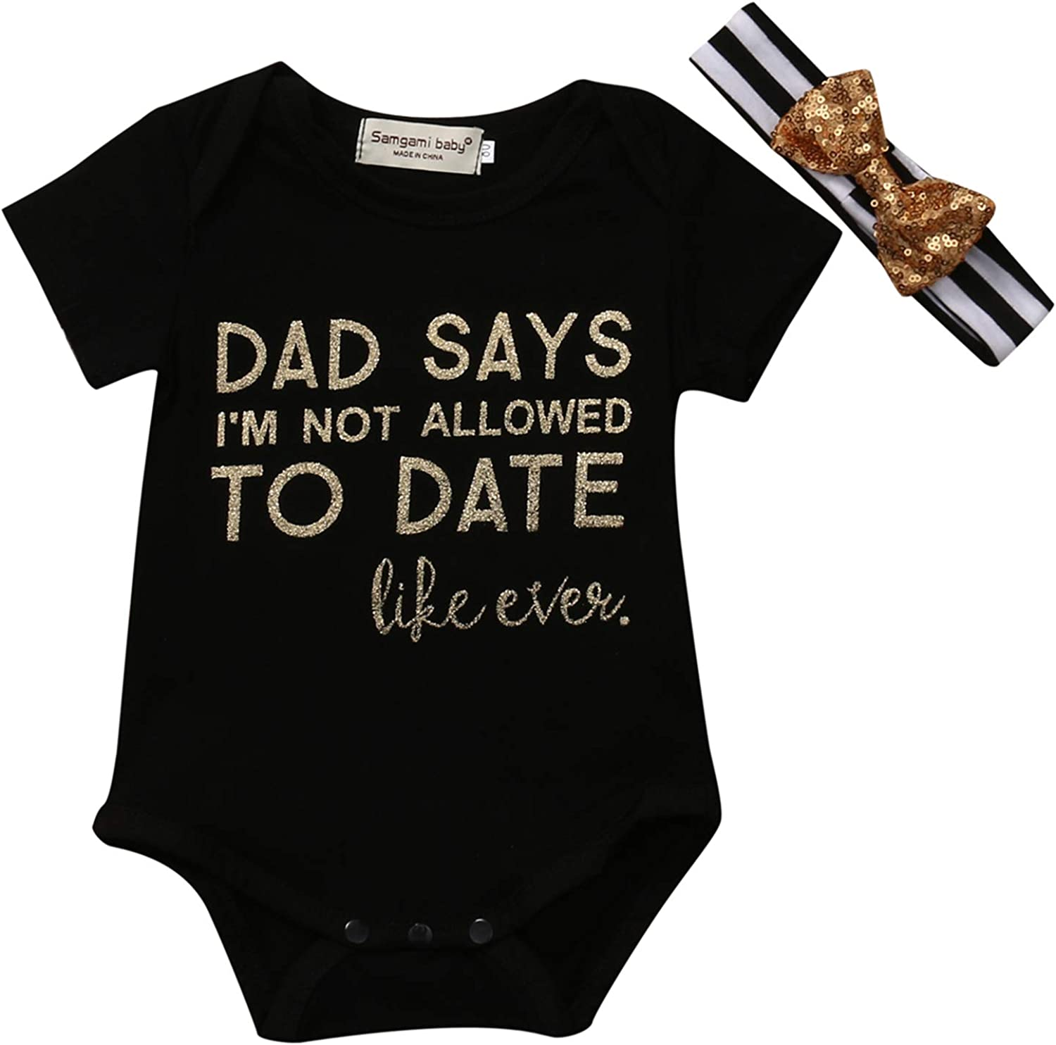 Daddy's At the price Little Princess Baby Girl Short Infant Clothes New life Sleeve Pr