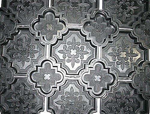 12 (5 + 5 + 2) Kunststoff Formen Schalungsformen für dekorative Orient Terrassen Platten