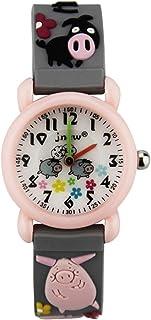 Kinderhorloge Leuke Cartoon Waterdicht Quartz Horloge Elementaire School Jongens Meisjes Siliconen Kinderen Horloges