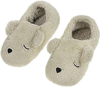 女式冬季保暖家庭柔软毛绒卧室拖鞋包裹家居拖鞋