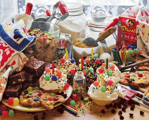 Treats and Sweets 1000 Piece Jigsaw Puzzle by