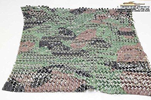 Tarnnetz im Maßstab 1:16 Bundeswehr Flecktarnung licmas-tank
