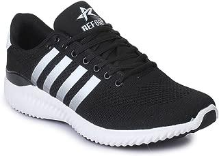 REFOAM Men's Black L8 Running Shoe