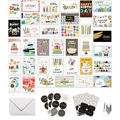 Tarjeta de Feliz Cumpleaños ,Sobre de Cumpleaños,Tarjeta de Regalo Cumpleaños,Postal Cumpleaños,Tarjeta de Felicitación Creativa,Tarjeta Cumpleaños