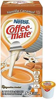 Coffee-mate Vanilla Caramel Liquid Creamers (Box of 50)