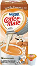 Coffee-mate Vanilla Caramel Liquid Creamers (Box of 50)