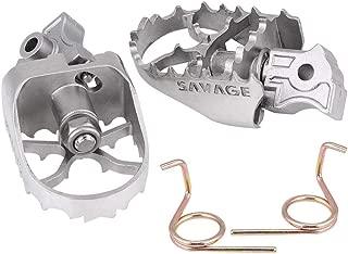 180X66mm Shiwaki Reposapi/és de Montaje de Aleaci/ón de Aluminio Reposapi/és para Autopistas para Harle//Derecha//Izquiera