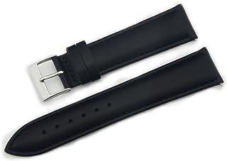 CASSIS[カシス] カーフ時計ベルト REIMS ランス 20mm ブラック 交換用工具付き U10257A1019020