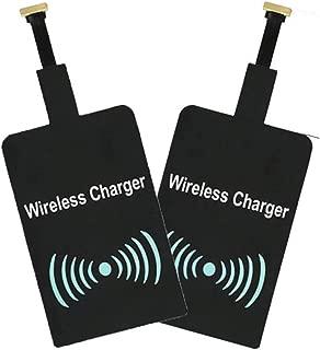 WOSOSYEYO QI Universal Cargador inalámbrico módulo Receptor para Micro-USB del teléfono móvil Varios móvil de Carga rápida