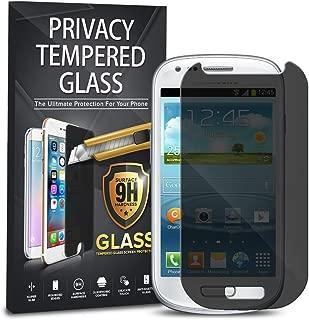 Samsung Galaxy S3 Mini Privacy Tempered Glass, 1-Pack Premium Anti-Spy Privacy Black Tempered Glass Screen Protector For Samsung Galaxy S3 Mini