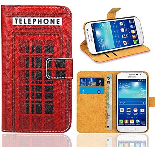 Samsung Galaxy Grand Neo / Grand Neo Plus Handy Tasche, FoneExpert® Wallet Case Flip Cover Hüllen Etui Ledertasche Lederhülle Premium Schutzhülle für Samsung Galaxy Grand Neo / Grand Neo Plus (Pattern 12)
