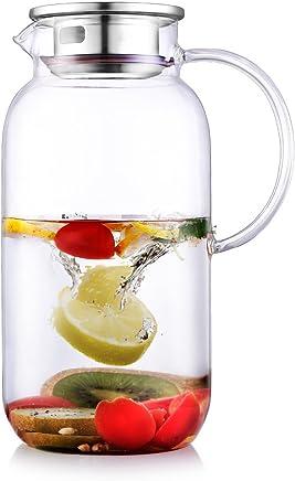 2,5 l Trendglas Jena cristal de borosilicato Jarra de zumo y t/é helado
