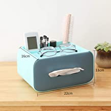 Miwaimao Boîte de mouchoirs de Bureau boîte de Toilette Rouleau de mouchoirs Papier boîte de mouchoirs étanche Maison Sall...