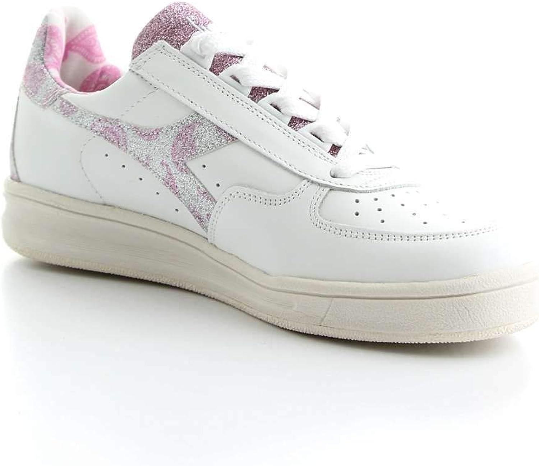 Diadora Woherrar 20117475350147 20117475350147 20117475350147 vit läder skor  het försäljning