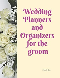 Wdding Planners and Organizers for the groom: Journal Planner daily and monthly 2019 2019