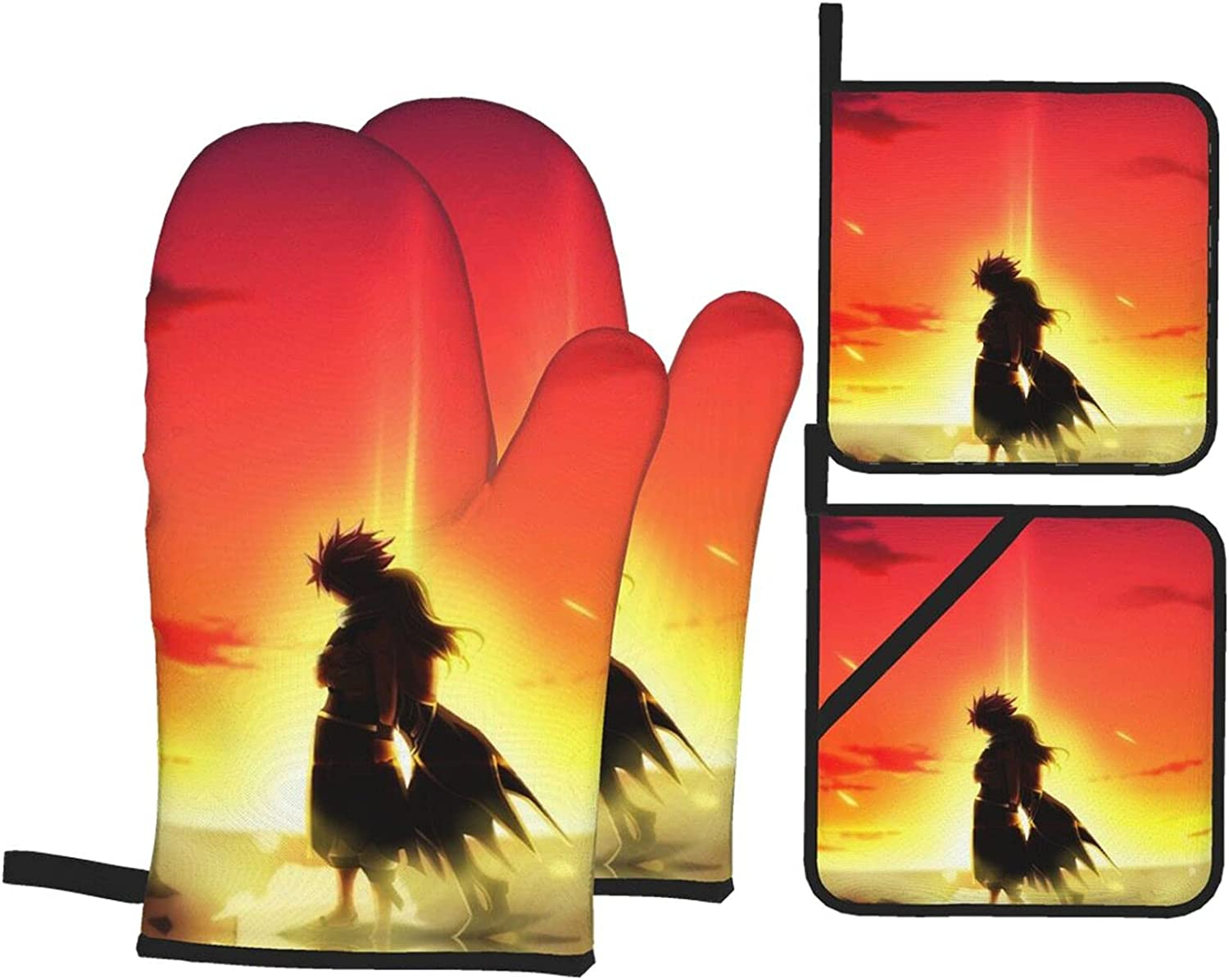 Fairy Ta-il Oven New color Mitts Discount mail order Anti-Scalding Pot H Pads Insulation