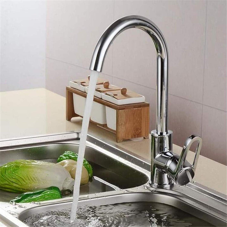 Faucet Vintage Brass Chrome Faucet Kitchen 360 ° Swivel High Spout Mixer Tap Sink Faucet Kitchen Tap Sink Faucet