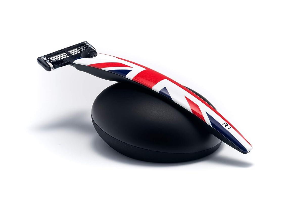 咲くメルボルン集まるイギリス BolinWebb カミソリ 名車と同じ塗装を施した プレミアムシェーバー R1 Jack ギフトセット モデル 替刃はジレット 3枚刃 マッハ3 に対応