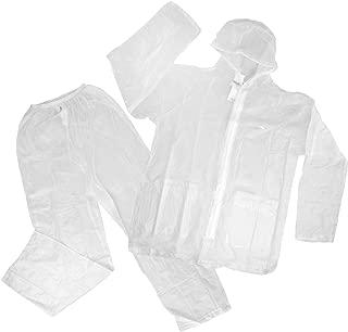 High Sierra 2pc Waterproof Emergency Rain Suit Bottom Jacket Hood for Women Men