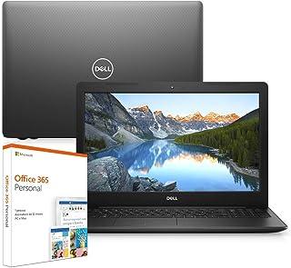 "Notebook Dell Inspiron i15-3583-M3XF 8ª Geração Intel Core i5 8GB 1TB 15.6"" Windows 10 Office 365 Preto McAfee"