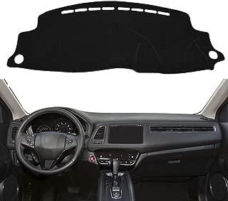 Autoxrun Black Dashboard Dash Protector Dash Mat Sun Cover Pad Fits 2016-2019 Honda HRV