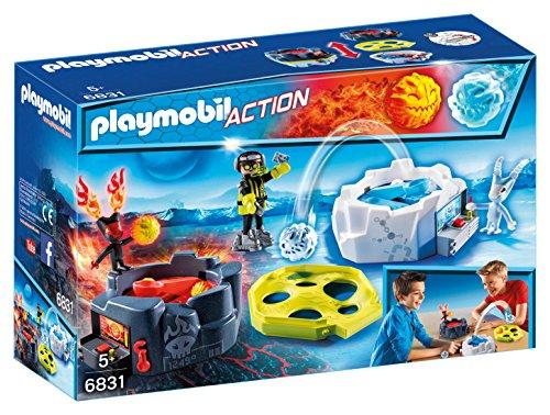 Playmobil Fire & Action- Action Playmobil Lanzador de Hielo