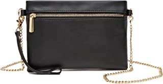 Wristlet Clutch Crossbody Bag with Chain Strap Wallet Cell Phone Purse
