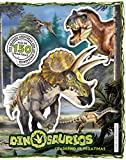 Dinosaurios. Cuaderno De Pegatinas: 5