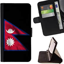 FJCases Nepal Nepali Nepalese Waving Flag Slim Wallet Card Holder Flip Leather Case Cover for Google Pixel