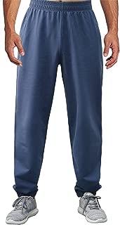 BONWAY Men's Sweatpants Active Pants Jersey Athletic Cotton Sport Pants with Pockets Heavy Sweatpants