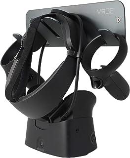 VRGE VR Wall Mount Storage Stand Hook - For Oculus Rift, Rift-S, Quest, HTC Vive, Vive Pro, Playstation VR, Valve Index, V...