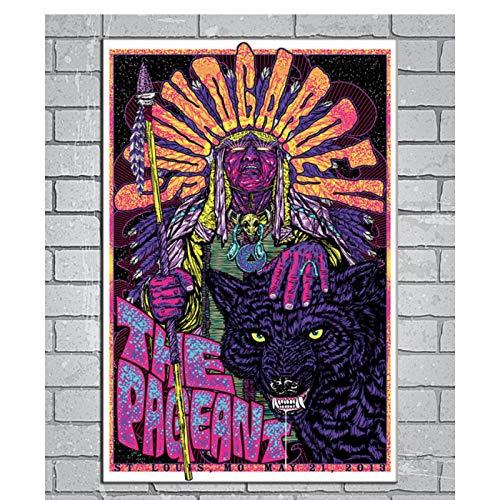 Tiiiytu Chris Cornell Rock Music Band nuevo regalo póster artístico lienzo pintura decoración del hogar cuadro de pared para sala de estar-50x75cm sin marco