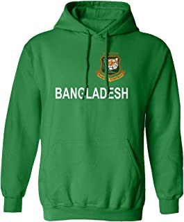 SMARTZONE Cricket Bangladesh Jersey Style Fans Supporter Hooded Sweatshirt