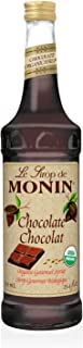 Monin Organic Chocolate Syrup, 750 ml bottle