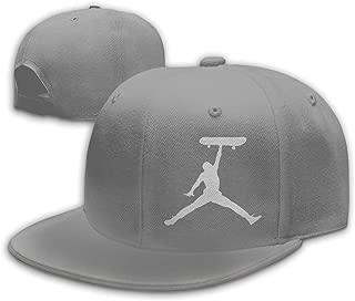 Skate Jordan Unisex Flat Bill Snapback Hat Baseball Cap Hip Hop Hat