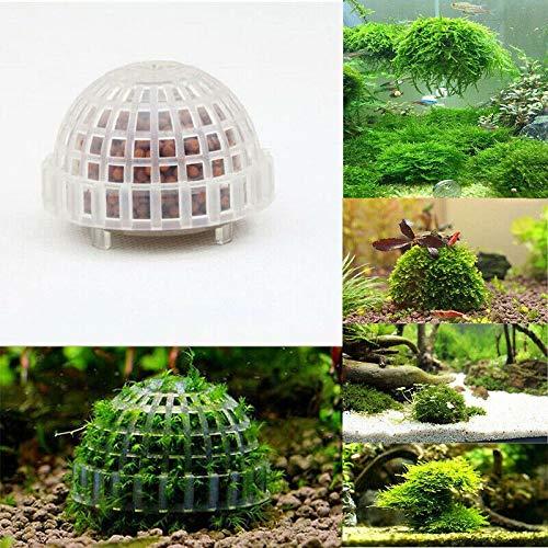 TIGOGZ 5cm Aquarium Aquarium Medien Moos Ball Live Pflanzenfilter Filtration Lustiges Dekor