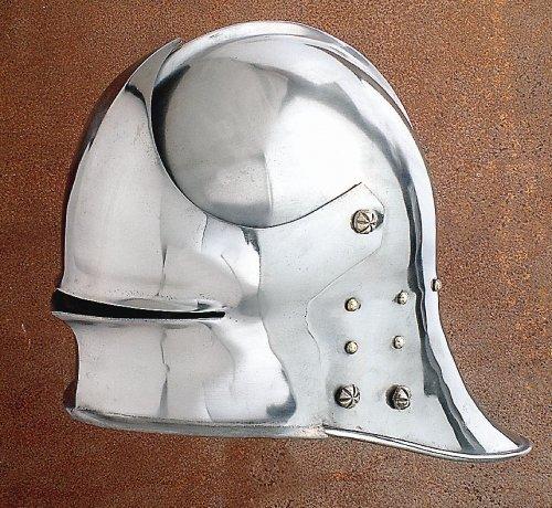 Duitse klank, ca. 1480 Decoratieve helm voor schuimgevechten, ridderhelm, LARP Viking