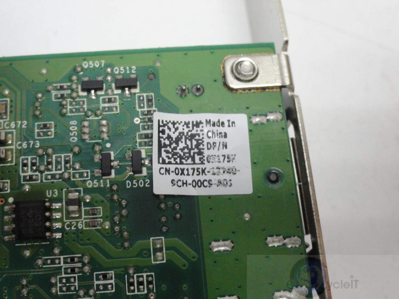 X175K Dell 256mb Nvidia Quadro Nvs 295 Gddr3 Pcie X16 Dvi Oem