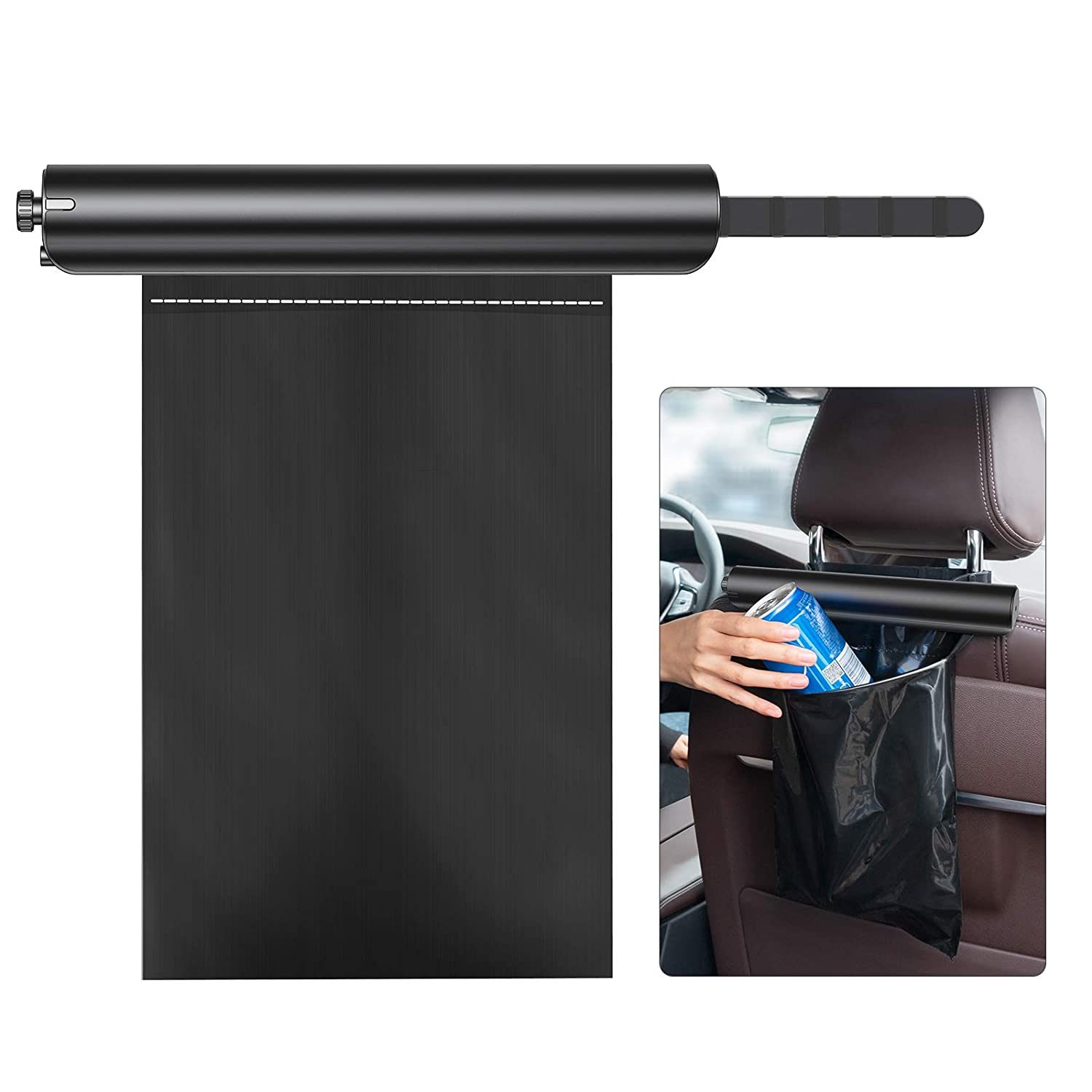 Car Trash Can 40% OFF Cheap Sale Upgraded BOSAI Holder Max 52% OFF Garbage Metal bag Aluminum