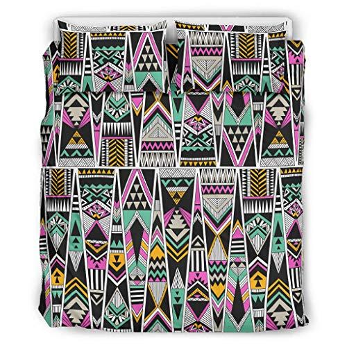 Toomjie Bettwäsche-Set, 3-teilig, für Mädchen-Schlafzimmer, Polyester, weiß, 229x229cm