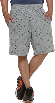 VIMAL Men's Cotton and Crush Shorts