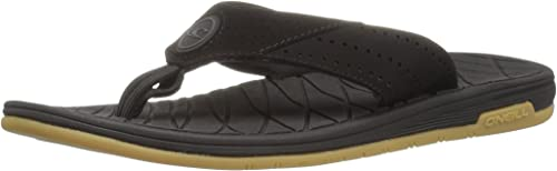 O& 039;Neill Men& 039;s Traveler Sandal Flip-Flop, schwarz, 9 M US